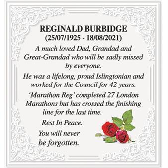 Reginald Burbidge