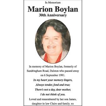 Marion Boylan
