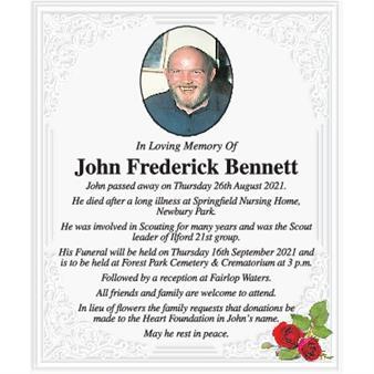 John Frederick Bennett