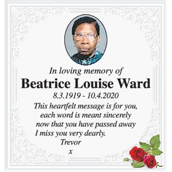 Beatrice Ward